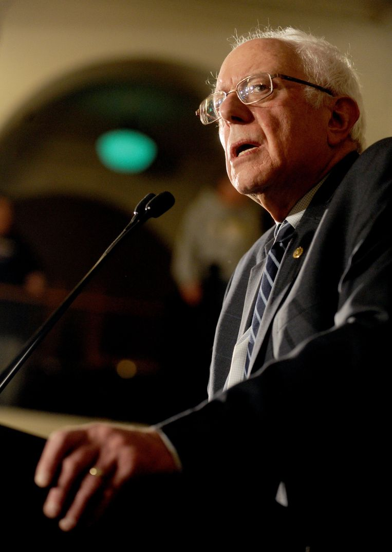 Bernie Sanders. Beeld Photo News