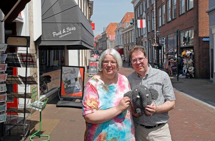 Door Jan en Petra Biesheuvel van Boekhandel Hoofdstuk Een is er straks ook een olifant in de maquette te zien.