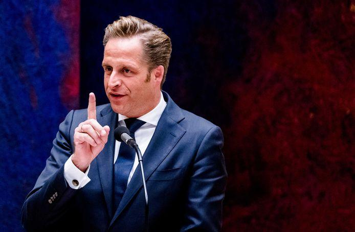 Minister Hugo de Jonge is lijsttrekker van het CDA in de aanloop naar de komende Tweede Kamerverkiezingen.