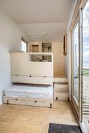Een bed in een lade, om ruimte te besparen