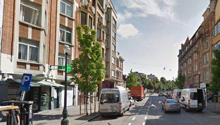 De overval gebeurde in de Brusselse Ieperstraat.