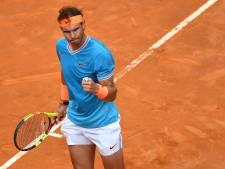 Nadal in Rome naar eerste finale op gravel in 2019