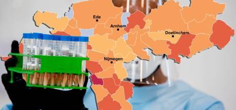CORONAKAART | Hoogste aantal ooit in West Betuwe en Westervoort; kijk hier hoe het zit in jouw gemeente