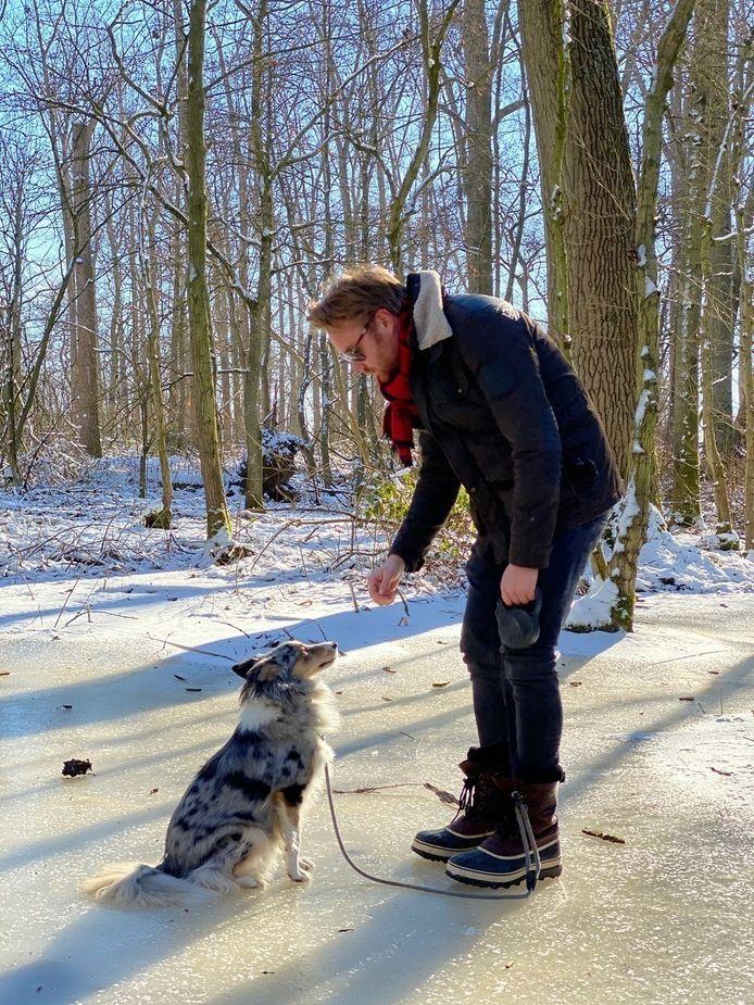 Ben Roelants en hond Joske