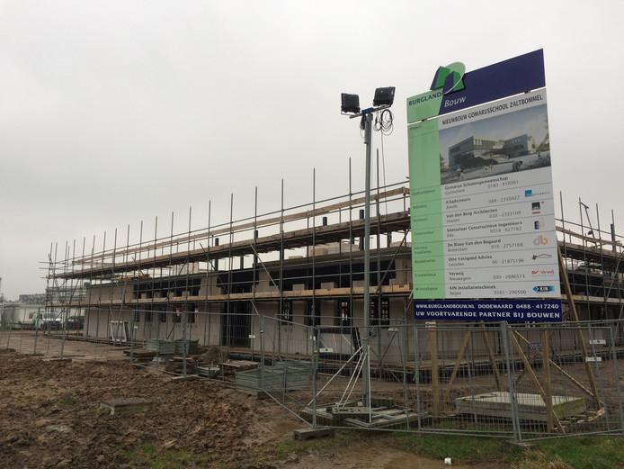 De combi van een nieuwe sporthal en een nieuw zwembad in Zaltbommel is gepland naast de nieuwbouw van scholengemeenschap Gomarus aan de Oude Bosscheweg.