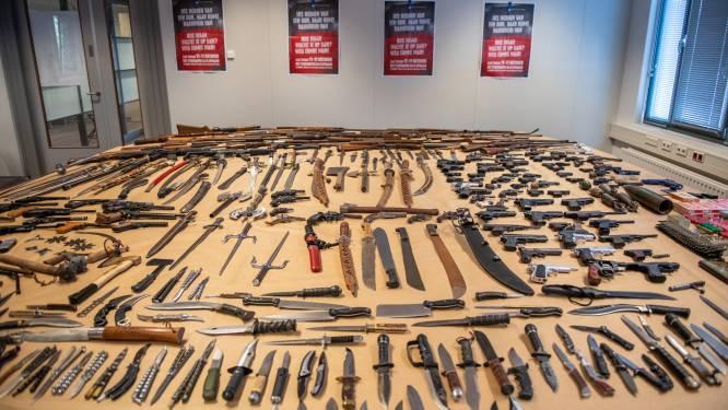 Landelijke inleveractie 'Drop je knife' haalt 3300 wapens van straat
