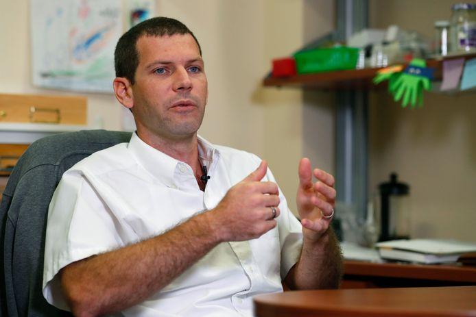 Entomoloog Brian Bahder.
