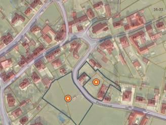 Verkaveling met zes woningen en drie koppelwoningen op til in Perrestraat