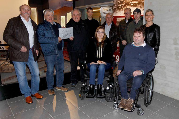 Het Lange Max Museum in Koekelare ontvangt het Toegankelijkheidslabel van de werkgroep gelijke kansen