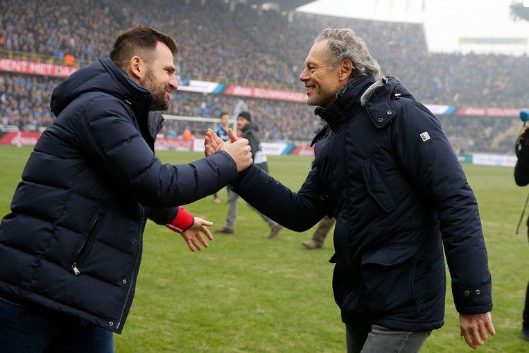 Ivan Leko en Michel Preud'homme: kijken zij straks elkaar al in de Supercup in de ogen?