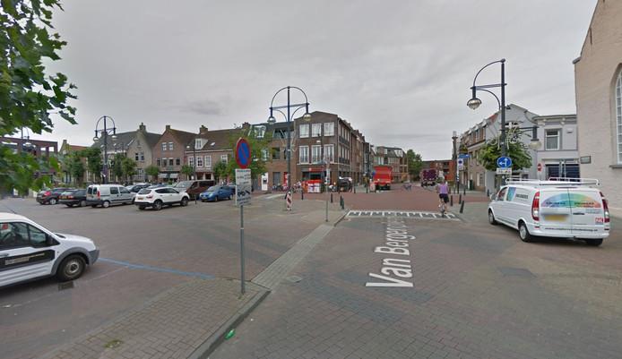 Het Van Bergenplein in Etten-Leur (archieffoto)
