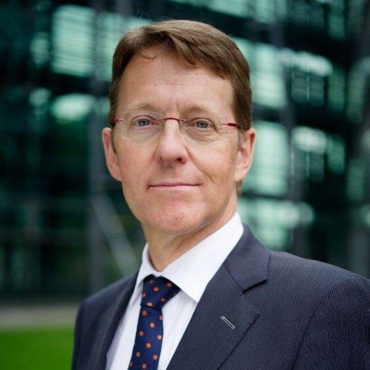 Gerard van der Steenhoven is directeur van het KNMI en voorzitter van de vereniging van Rijkskennisinstellingen. Beeld RV