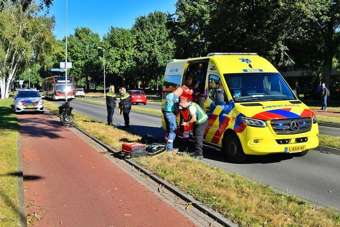 Een fietser raakte zwaargewond bij een val in Veldhoven.