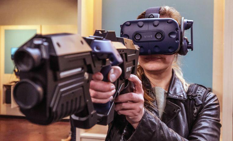 Na Antwerpen, Hasselt en Gent kan je nu ook in Kortrijk games in virtual reality spelen.