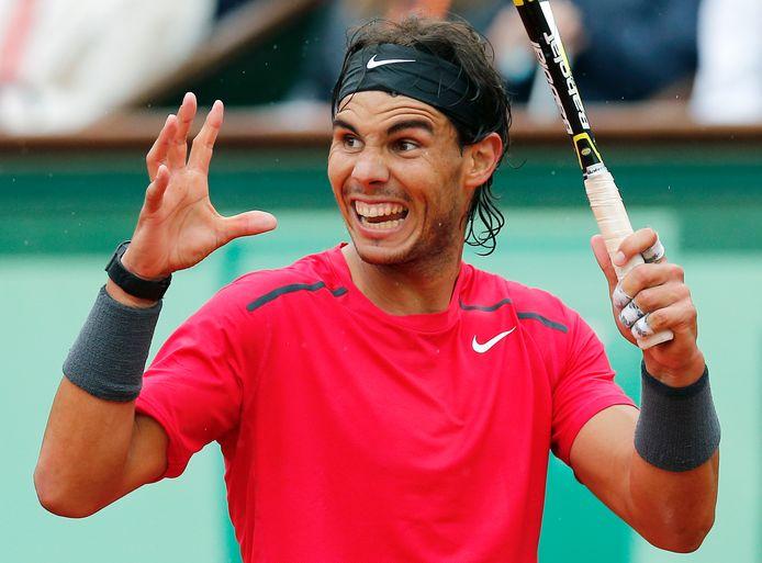 Rafael Nadal, een van de exponenten van het Spaanse topsport-beleid.