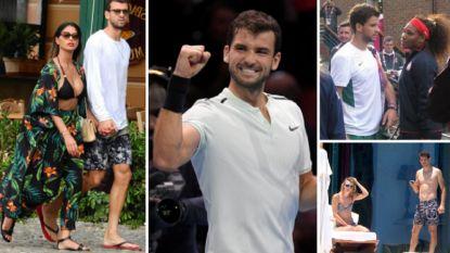 Van 'Baby Federer' tot 'Bulgaarse Beckham': alles wat u moet weten over Grigor Dimitrov, de opponent van Goffin in Monaco