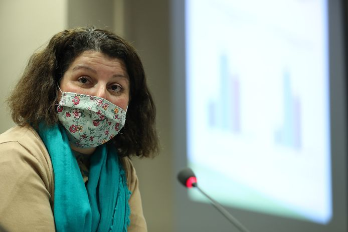 Marie-Hélène Ska, secrétaire générale de la CSC.