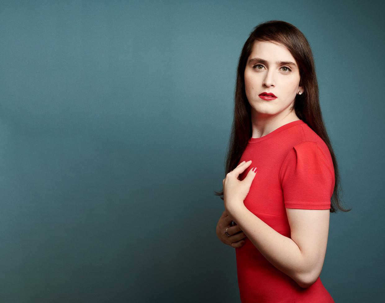 Transgender auteur, activiste, blogger en rabbijn Abby Stein. Beeld Getty Images