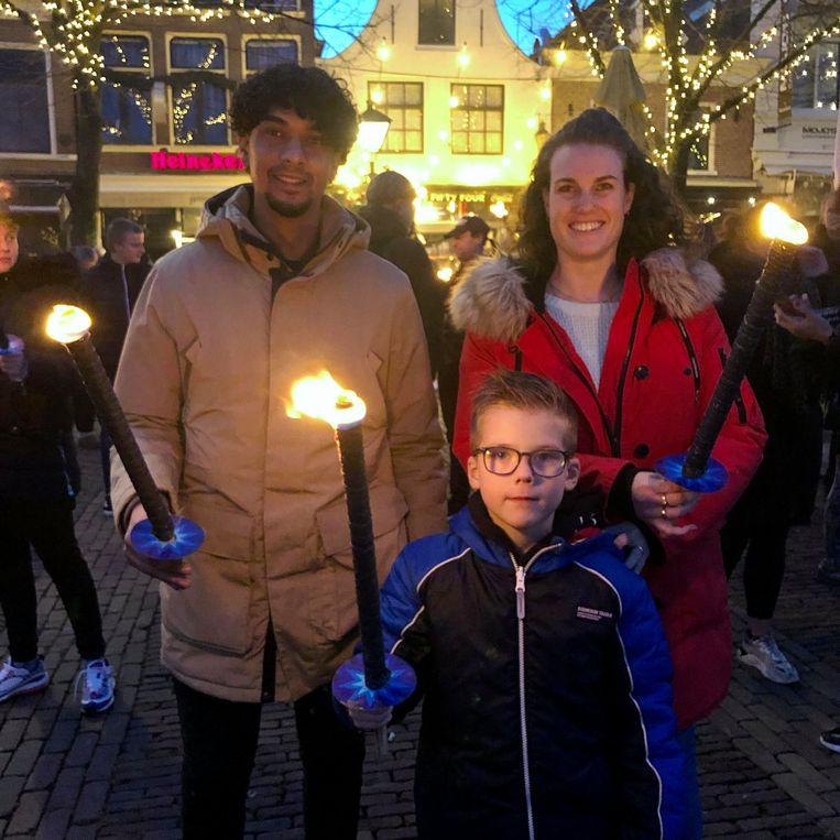 Jeson, Djodie en Kay. Beeld Toine Heijmans
