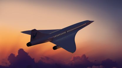 Amerikaanse start-up haalt 100 miljoen dollar op voor bouw supersonisch vliegtuig