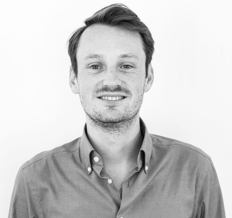 Benjamin Nolan, lobbyist bij jongerenorganisatie Choice for Youth and Sexuality. Beeld
