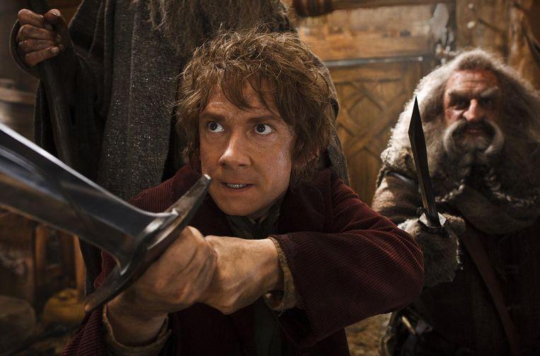 Martin Freemanm (links) en John Callen in The Hobbit: The Desolation of Smaug. Beeld
