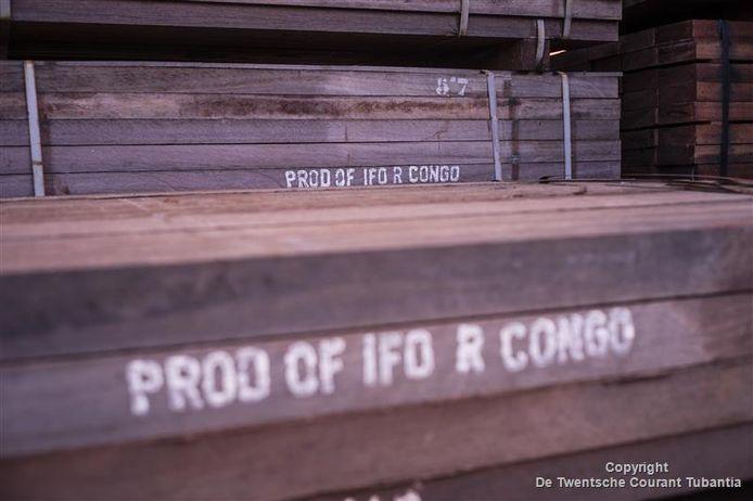 Archieffoto. Het hout op deze foto houdt geen verband met Global Wood Import.