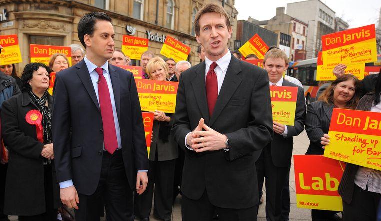 Dan Jarvis (rechts). Beeld AFP