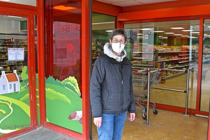 Nathalie Heydens bracht de winkel vrijdag alvast een eerste bezoekje
