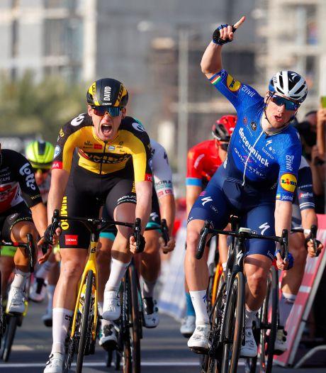 David Dekker weer dicht bij zege in Ronde van de Emiraten