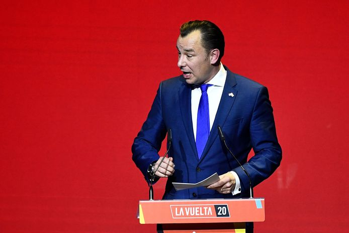 Wethouder Klaas Verschuure ging in december 2019 op dienstreis naar Spanje.