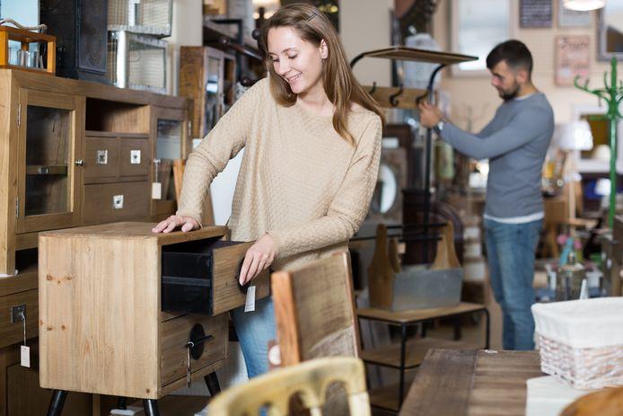 Kringloopwinkels zijn uiteraard een goede plek voor milieubewuste consumenten.