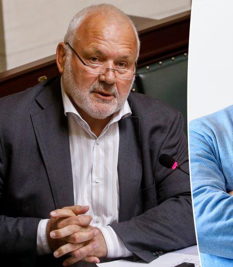 """Débat houleux entre Marc Van Ranst et Jean-Marie Dedecker: """"Fatigué d'être dupé"""""""
