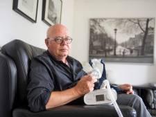 Wim (72) uit Almelo wil weer rustig slapen, maar zijn slaapmasker lijkt niet veilig: 'Mijn ademhaling stopt 45 keer per uur'
