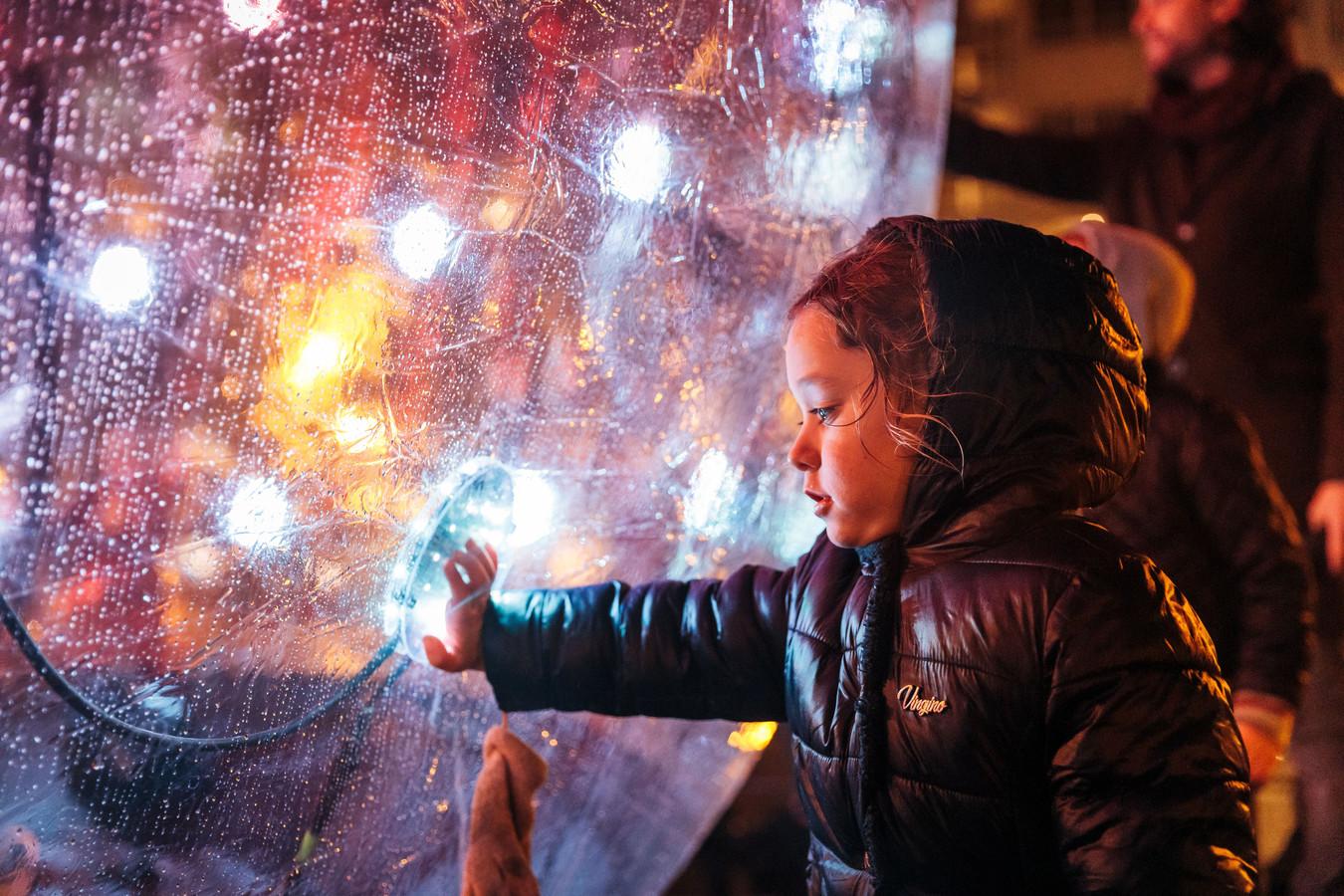 Een beeld van het lichtfestival in Knokke-Heist vorig jaar.