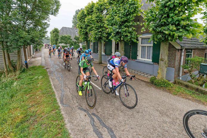 De vrouwen moeten hopen dat de Omloop van de IJsseldelta in 2022 weer op de kalender staat.
