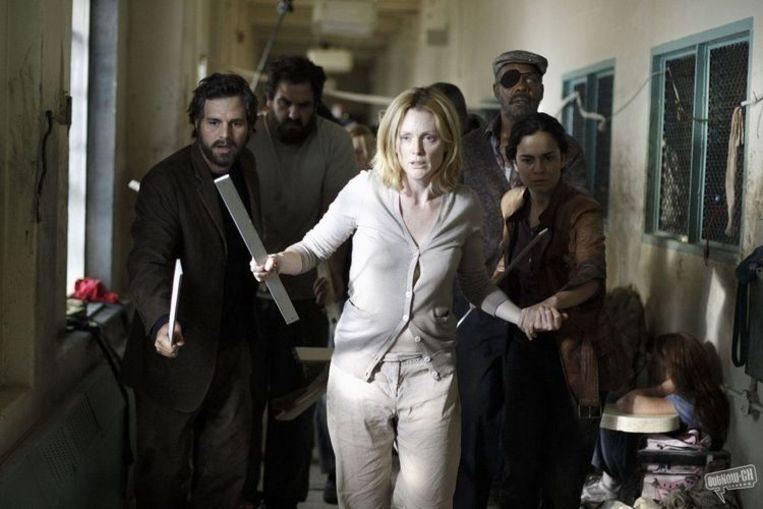 Julianne Moore in 'Blindness'. Foto GPD Beeld