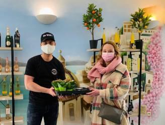 Schepen zet lokale horeca in de bloemetjes