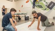 Leerlingen MSKA geven kleur aan bouwbedrijf van voormalige leerkracht