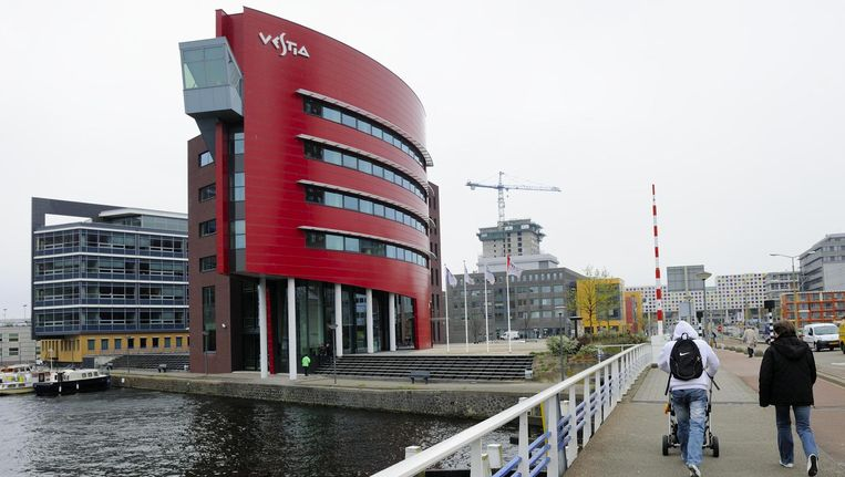 Het kantoorgebouw van Vestia in Den Haag. Beeld ANP