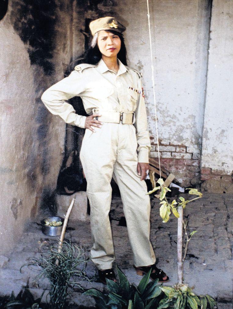 Aasia Bibi op een foto die door haar familie is vrijgegeven. Beeld null