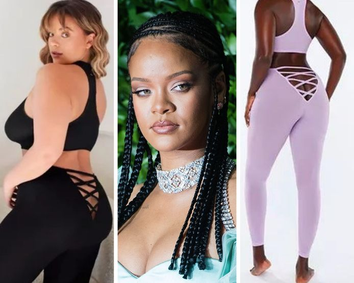 De nombreux internautes ont été déconcertés par un legging de la marque de lingerie de Rihanna, Savage X Fenty.