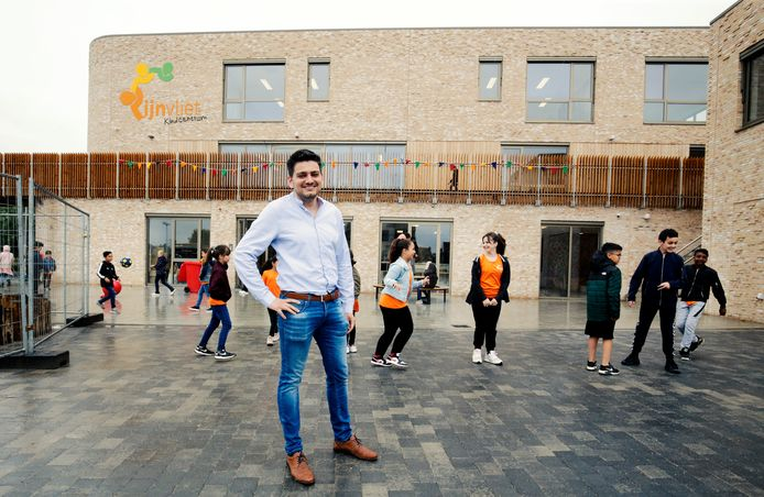 Adjunct-directeur Robin Nijssen van het eerste kindcentrum in regio Utrecht.