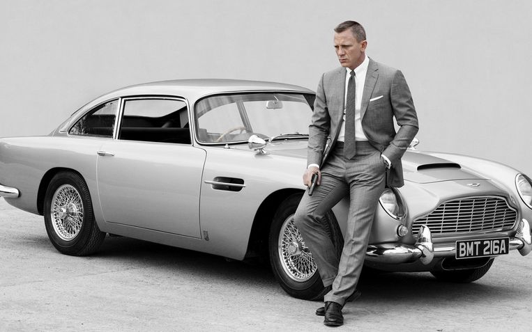 Daniel Craig als James Bond. Beeld Photo News