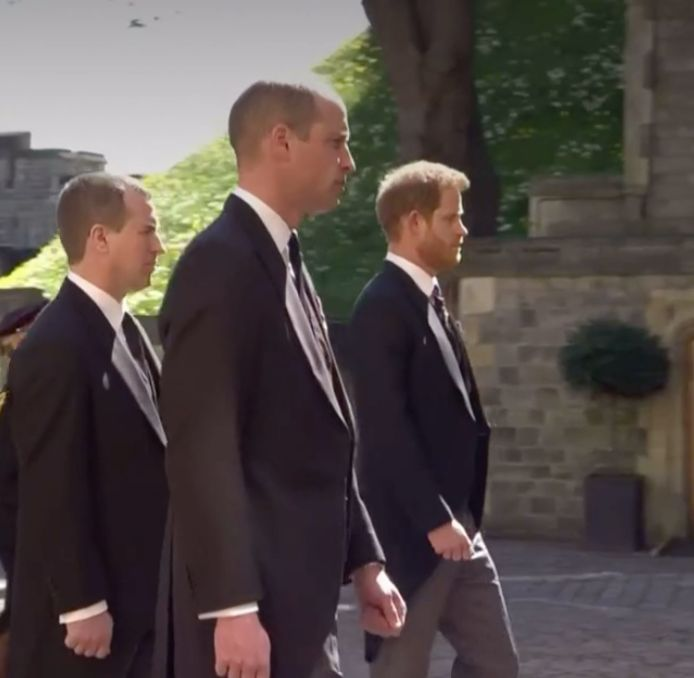 William en Harry gunnen elkaar geen blik.