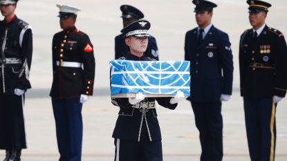 Noord-Korea levert stoffelijke overschotten over van VS-soldaten Koreaanse Oorlog
