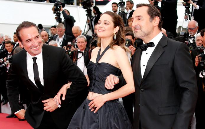 Marion Cotillard, Jean Dujardin et Gilles Lellouche