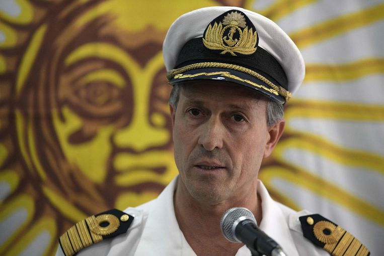 Kapitein Enrique Balbi. Beeld AFP