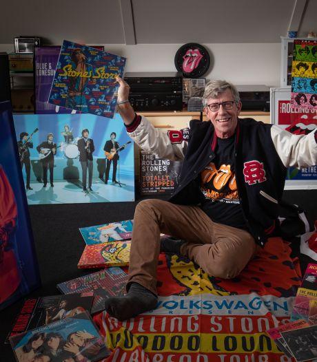 De mancave van Jelle (67) uit Meppel haalt nu het museum: 'The Rolling Stones zit altijd in mijn hart'