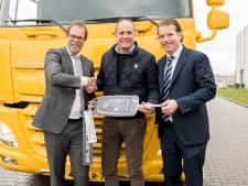 Jumbo mag als eerste testen met de elektrische truck van DAF en VDL